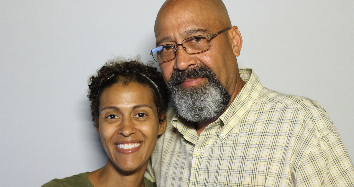 Caption: Vanessa Silva-Welch (left) and Arnaldo Silva (right)