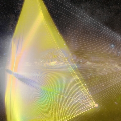 Caption: Breakthrough Starshot, Credit: BreakthroughInitiatives.org