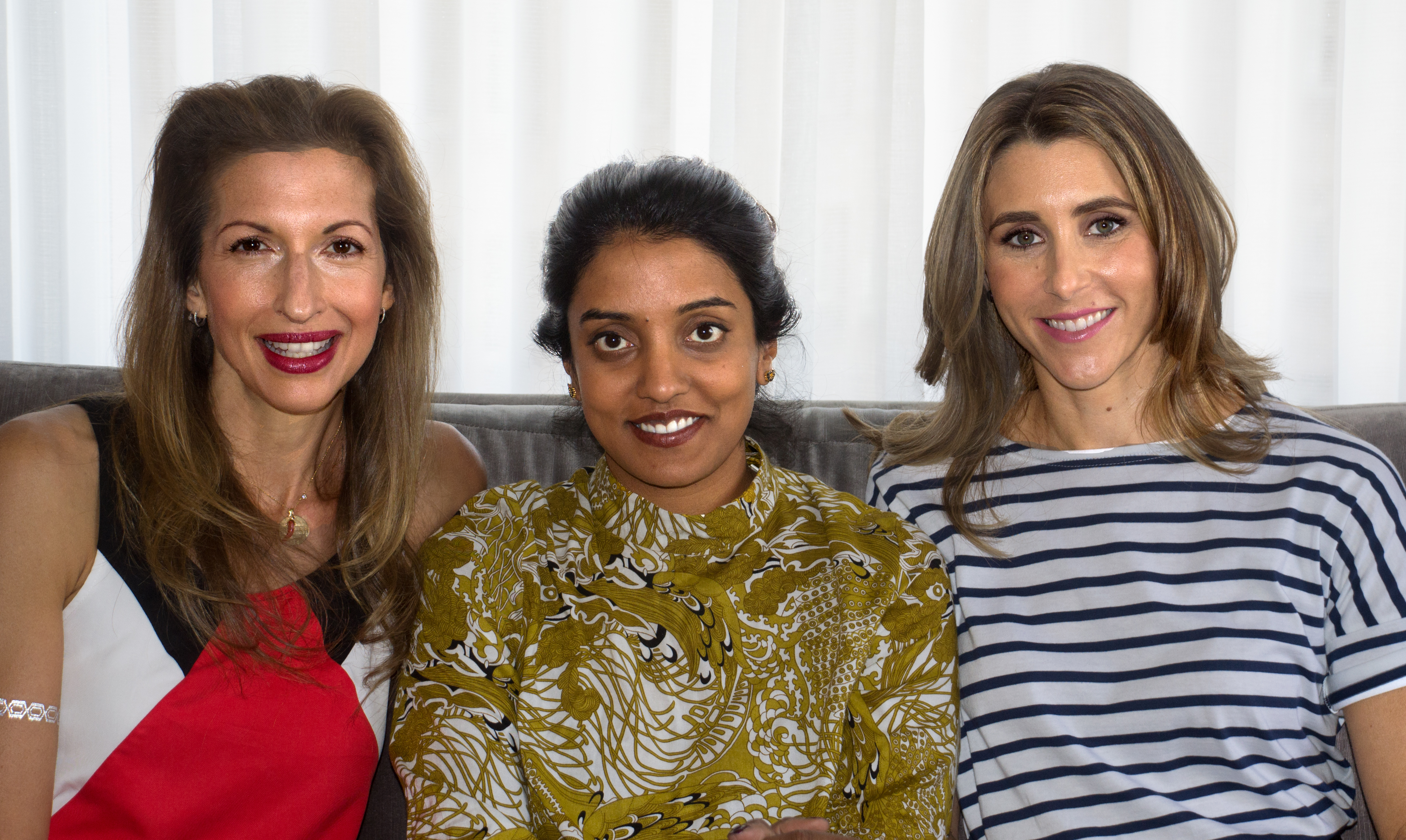 Caption: Alysia Reiner, Meera Menon, Sarah Megan Thomas, San Francisco, CA 7/15/16, Credit: Andrea Chase