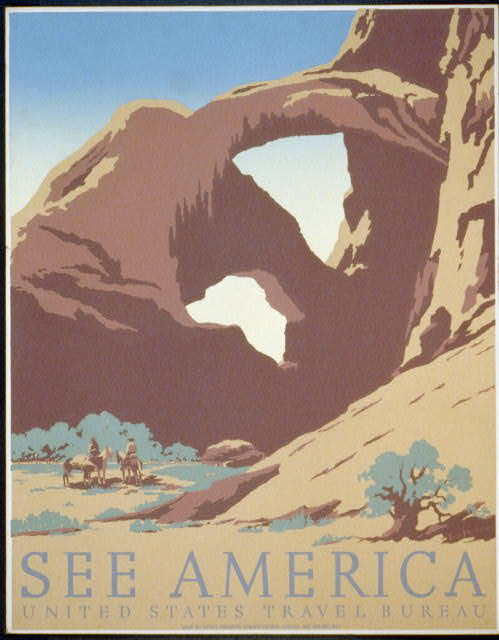 "Caption: ""See America"" by Frank S. Nicholson. , Credit: Library of Congress"
