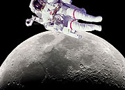 Caption: Are We Over the Moon?, Credit: Seth Shostak
