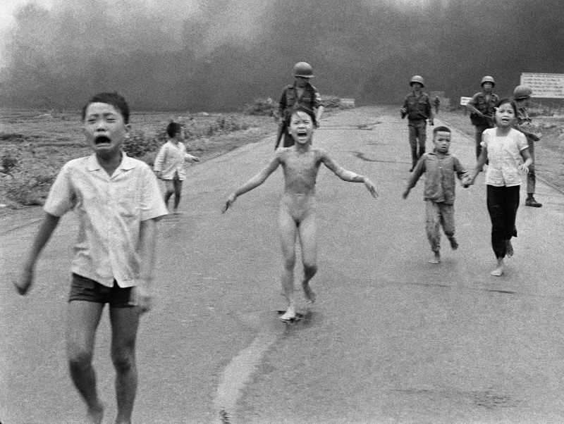 Caption: Napalm Girl, Credit: Nick Ut