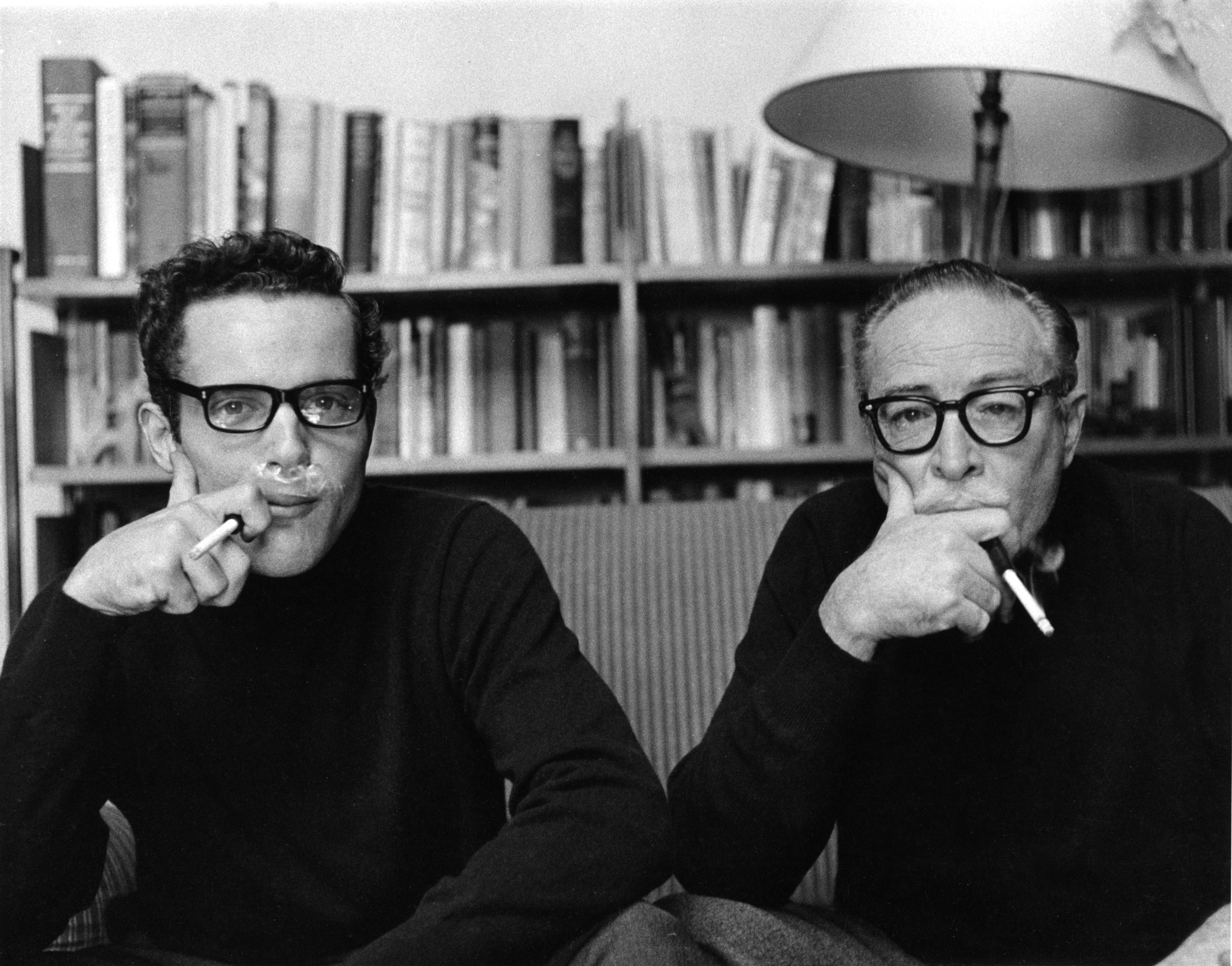 Caption: Christopher and Dalton Trumbo, Credit: Focus on the Masters Archive, Christopher Trumbo Papers
