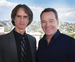 Caption: Bryan Cranston and Jay Roach, Credit: Donna Granata