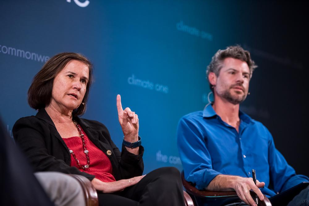 Caption: Dian Grueneich, Michael Shellenberger, Credit: Ed Ritger