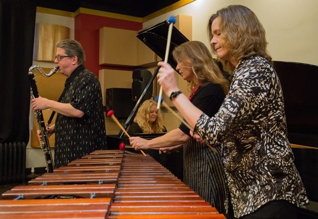 Caption: Zeitgeist New Music Ensemble, Credit: Andrea Canter