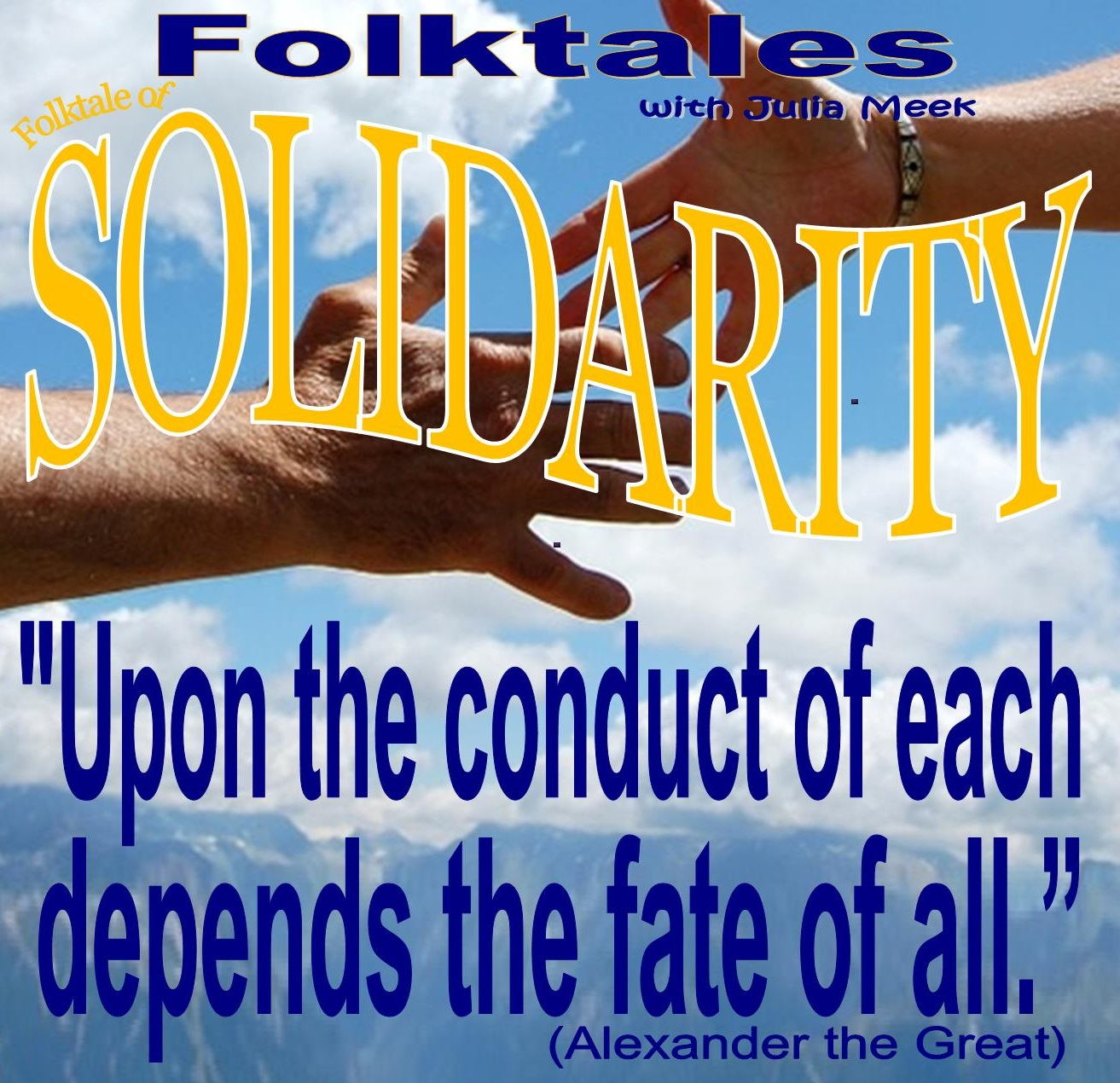 Caption: WBOI's Folktale of Solidarity, Credit: Julia Meek