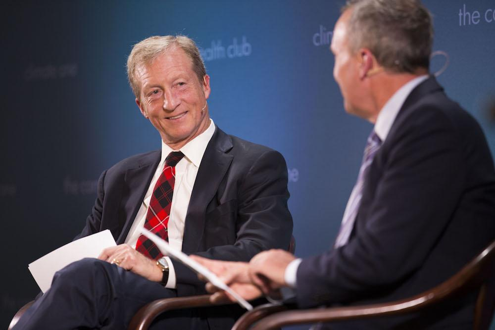 Caption: Tom Steyer, Business Leader, Philanthropist and Clean Energy Advocate, Credit: Sonya Abrams