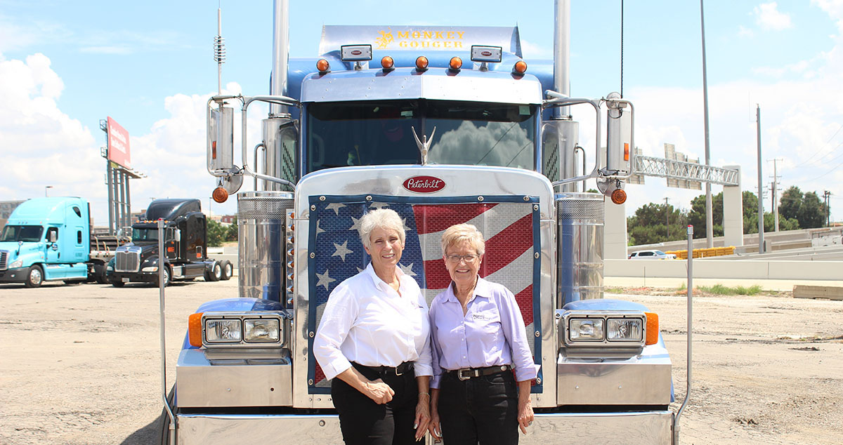 Caption: Idella Hansen (left) and Sandi Talbott (right)