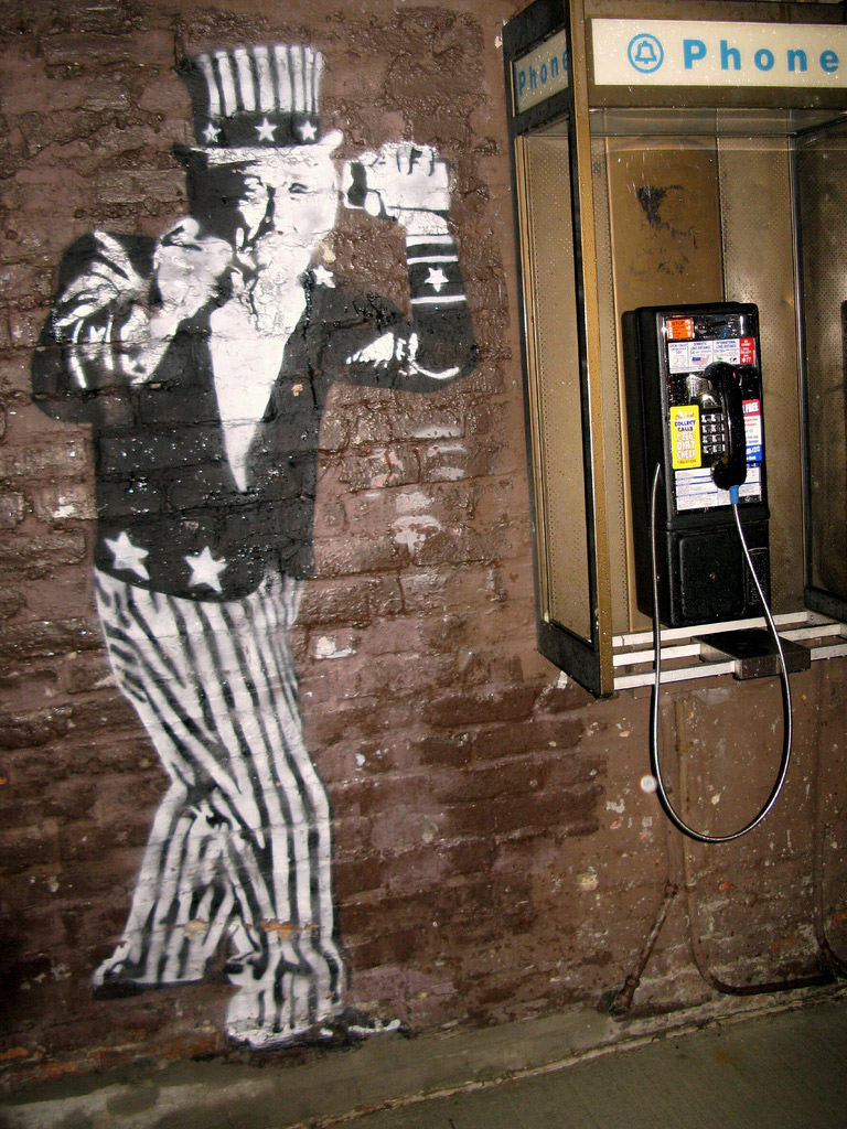 Caption: Uncle Sam wants your privacy., Credit:  Source: Jeff Schuler via Flickr (https://secure.flickr.com/photos/jeffschuler/2585181312/in/set-72157604249628154)