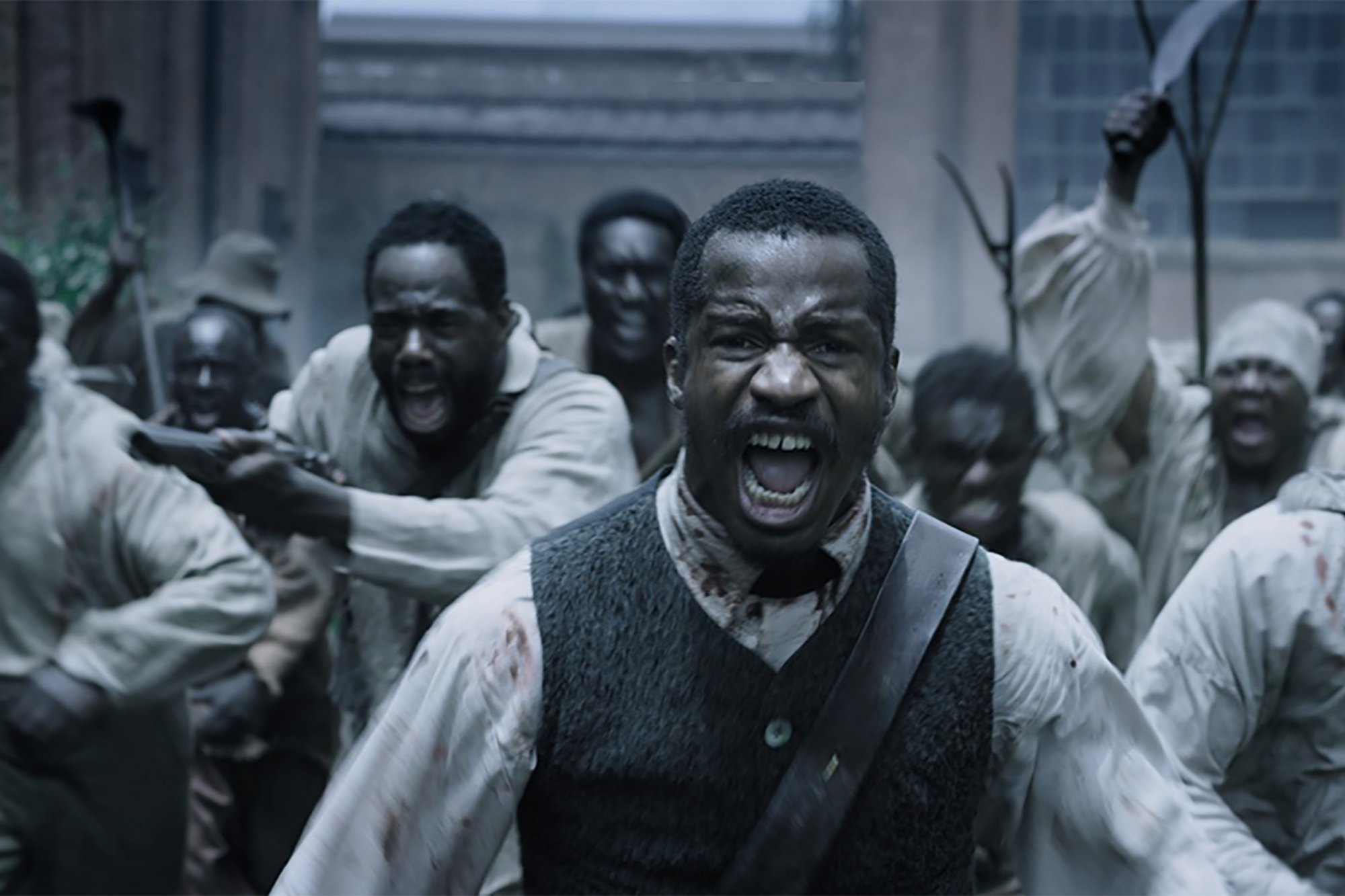 Caption: Colman Domingo and Nate Parker in 'The Birth of a Nation' (2016)