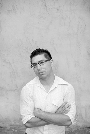 Caption: J. Michael Martinez, poet