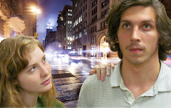 Caption: Paige Keane and Avery Bowne as Lucinda and Freddie C.