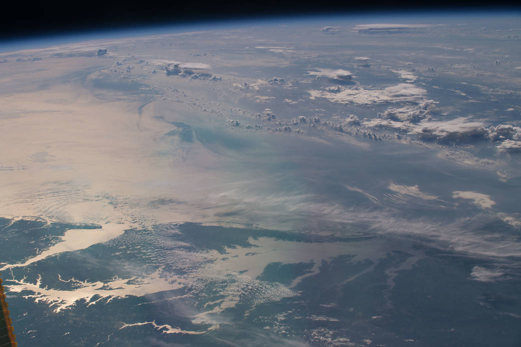 Caption: Space Station View of the Chesapeake Bay, July 2016, Credit: NASA