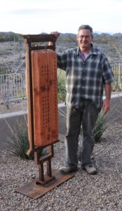 Caption: Greg Corman Tucson Sculptor