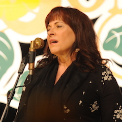 Caption: Janiva Magness returns to the WoodSongs Stage.