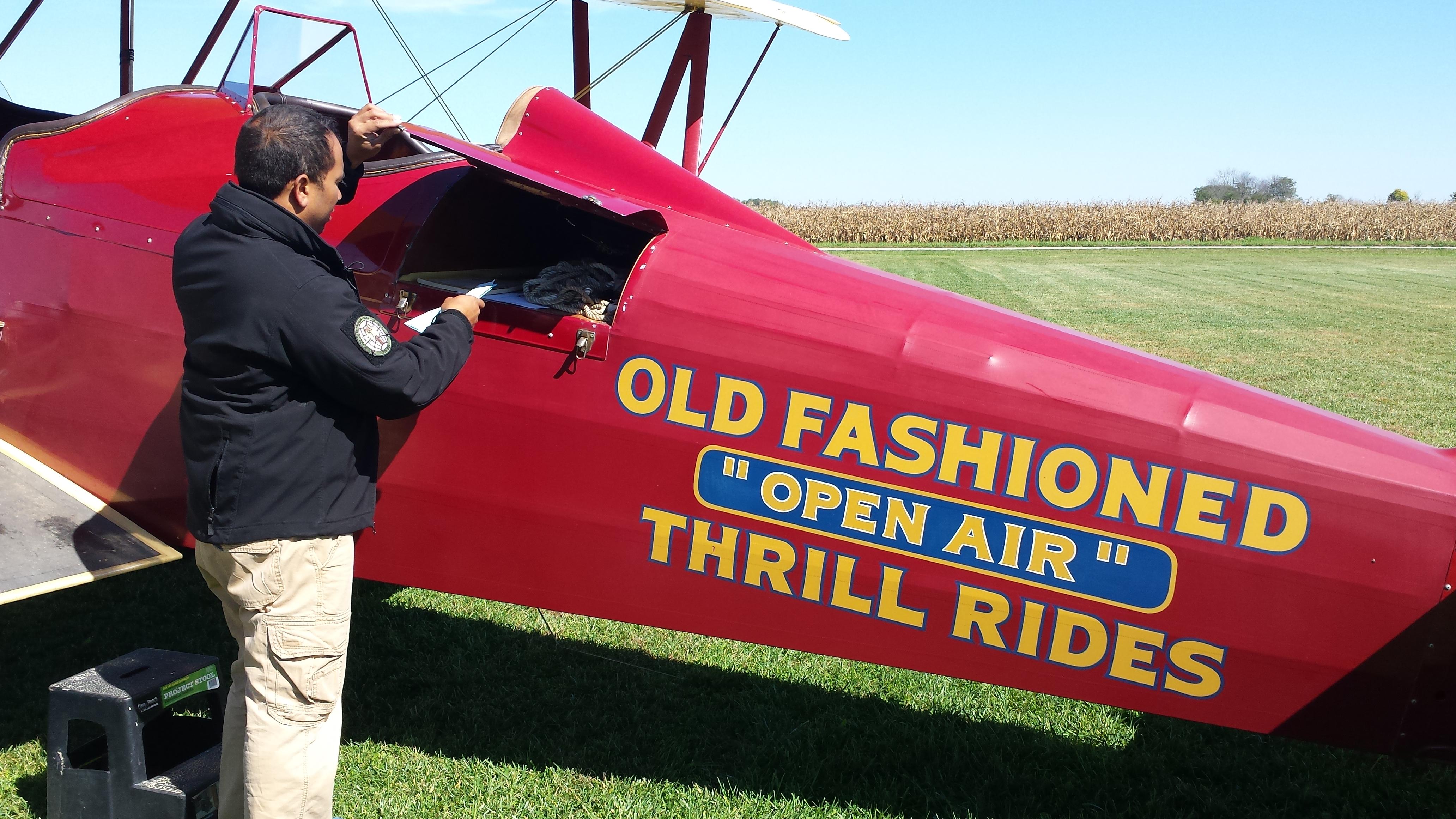 Caption: d25 New Standard and pilot Dewey Davenport, Credit: renee wilde