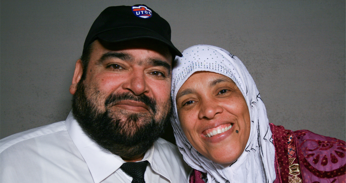 Caption: Tariq Sheikh (left) and Tabinda Sheikh (right)