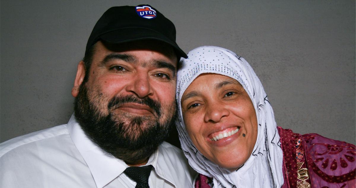Caption: Tariq Sheikh (left) and Tabinda Sheikh (right)