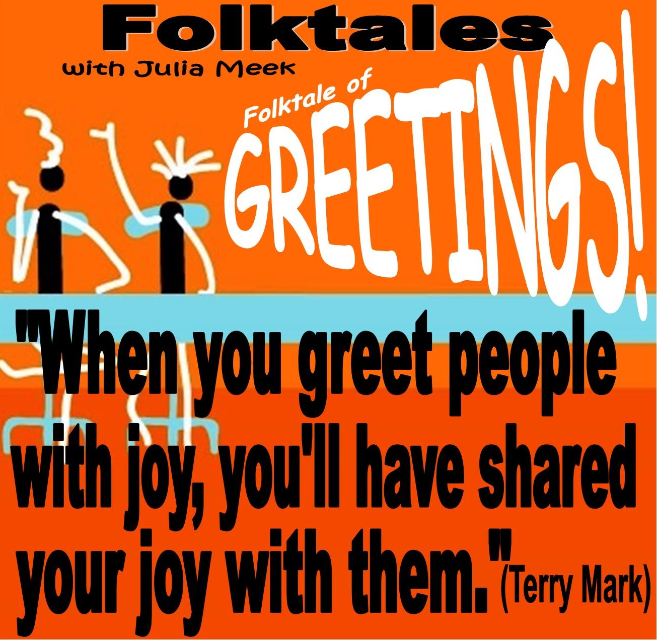 Caption: WBOI's Folktale of Greetings!, Credit: Julia Meek