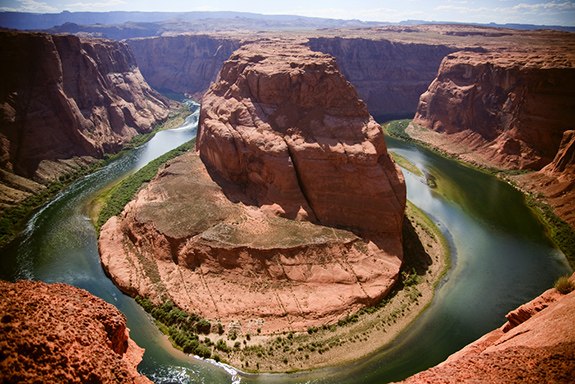 Caption: Horseshoe bend in Page, Arizona, Credit: Sean Hobson/Flickr
