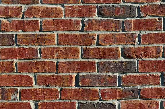 Caption: A brick wall., Credit: Open Grid Scheduler/Flickr