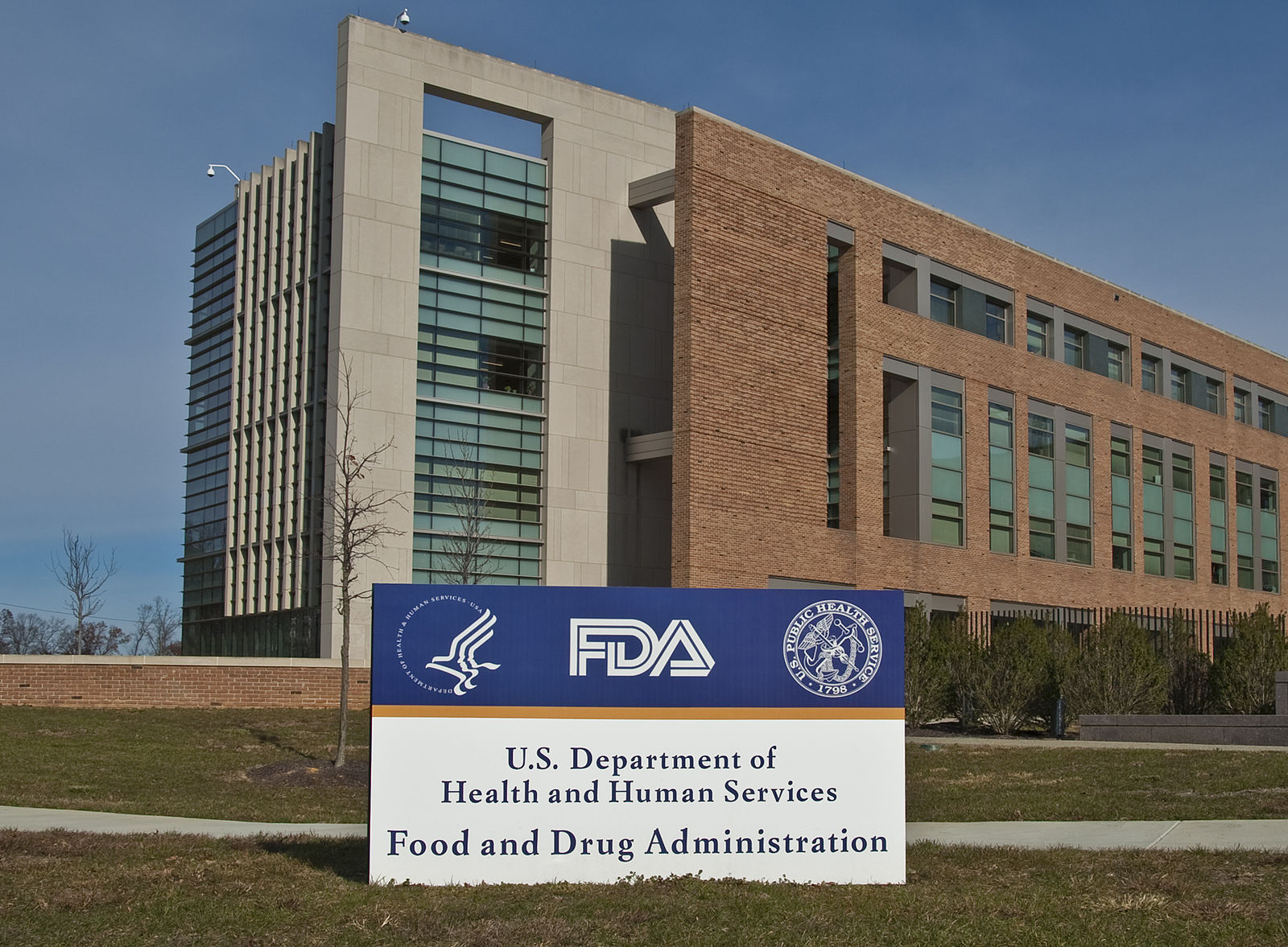 Caption: An FDA building in Maryland. , Credit: Wikimedia Commons