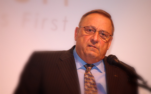 Caption: Maine governor Paul LePage., Credit: Maine Department of Education/Flickr