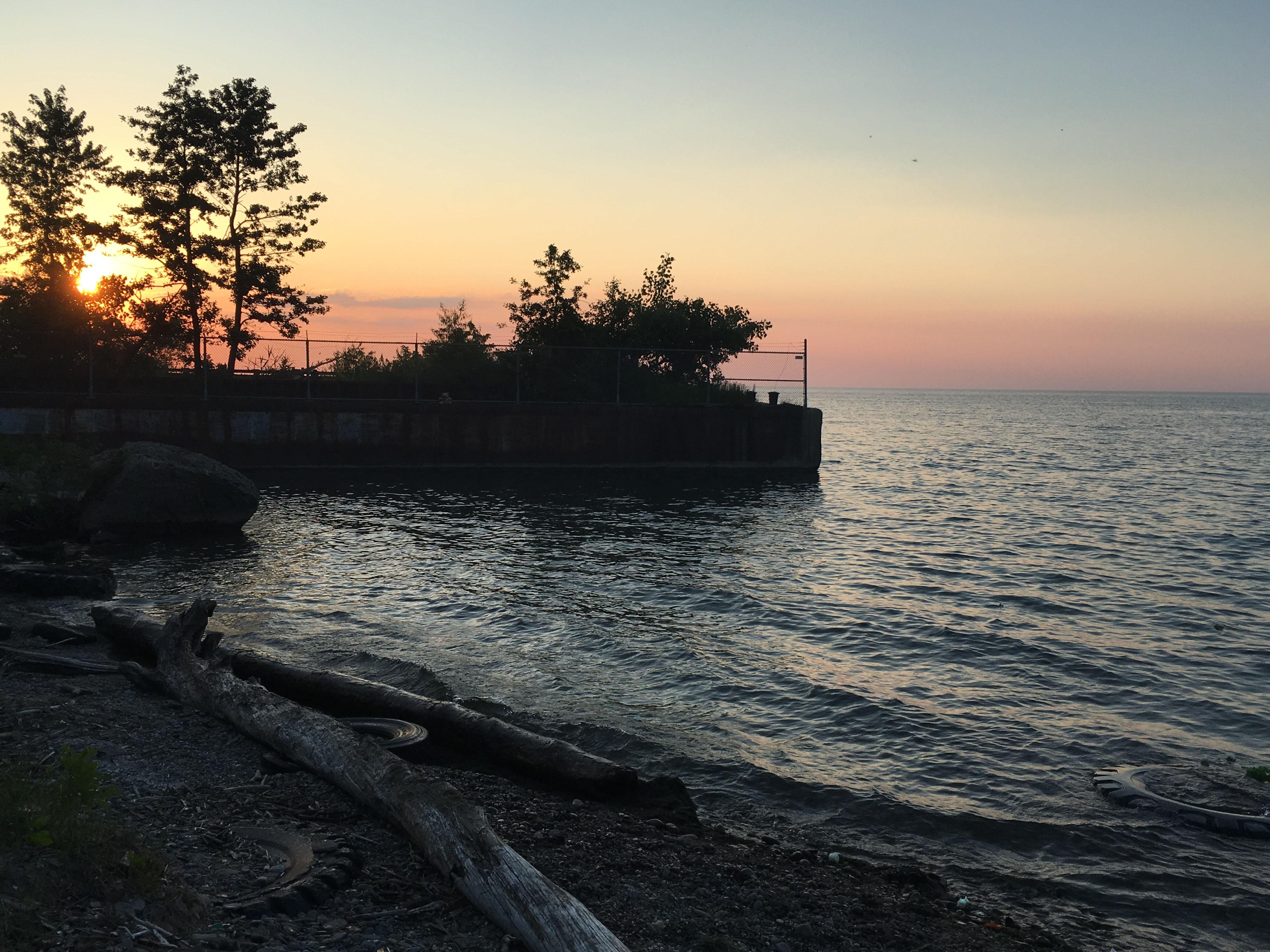Caption: Lake Erie, Credit: Elizabeth Miller