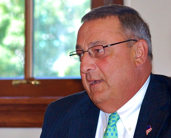 Caption: Maine governor Paul LePage, Credit: Maine Department of Education/Flickr