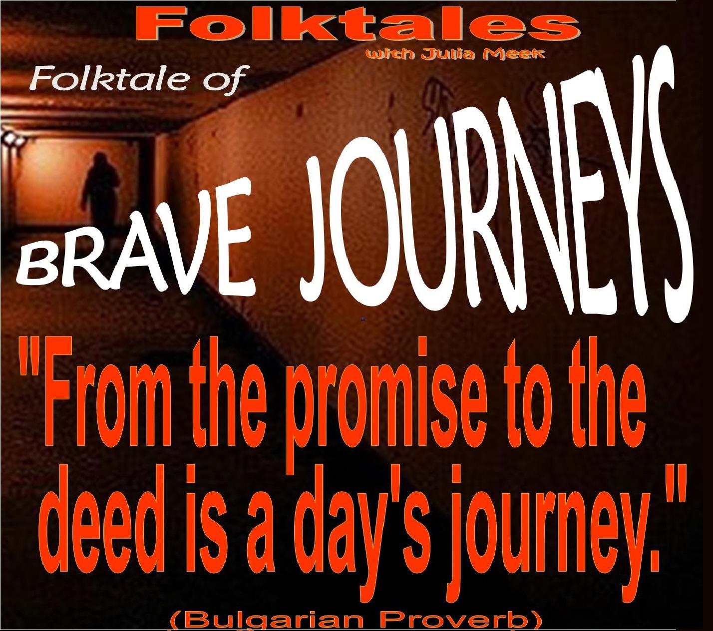 Caption: WBOI's Folktale of Brave Journeys, Credit: Julia Meek