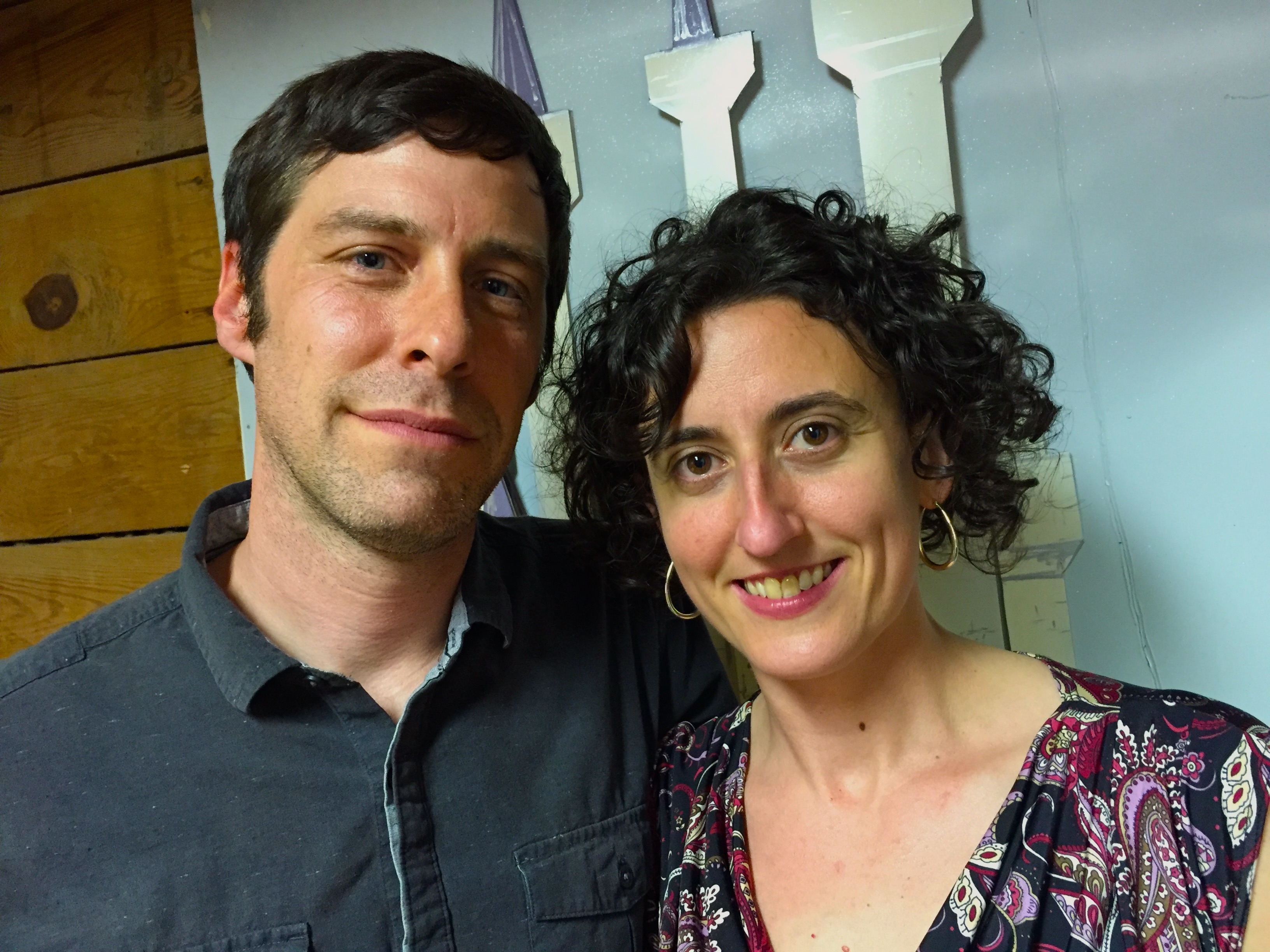 Caption: John Cloyd Miller and Natalya Zoe Weinstein are Zoe & Cloyd, a North Carolina-based roots music duo embodying the modern American musical story of multiple backgrounds and influences.  , Credit: Paul Brown