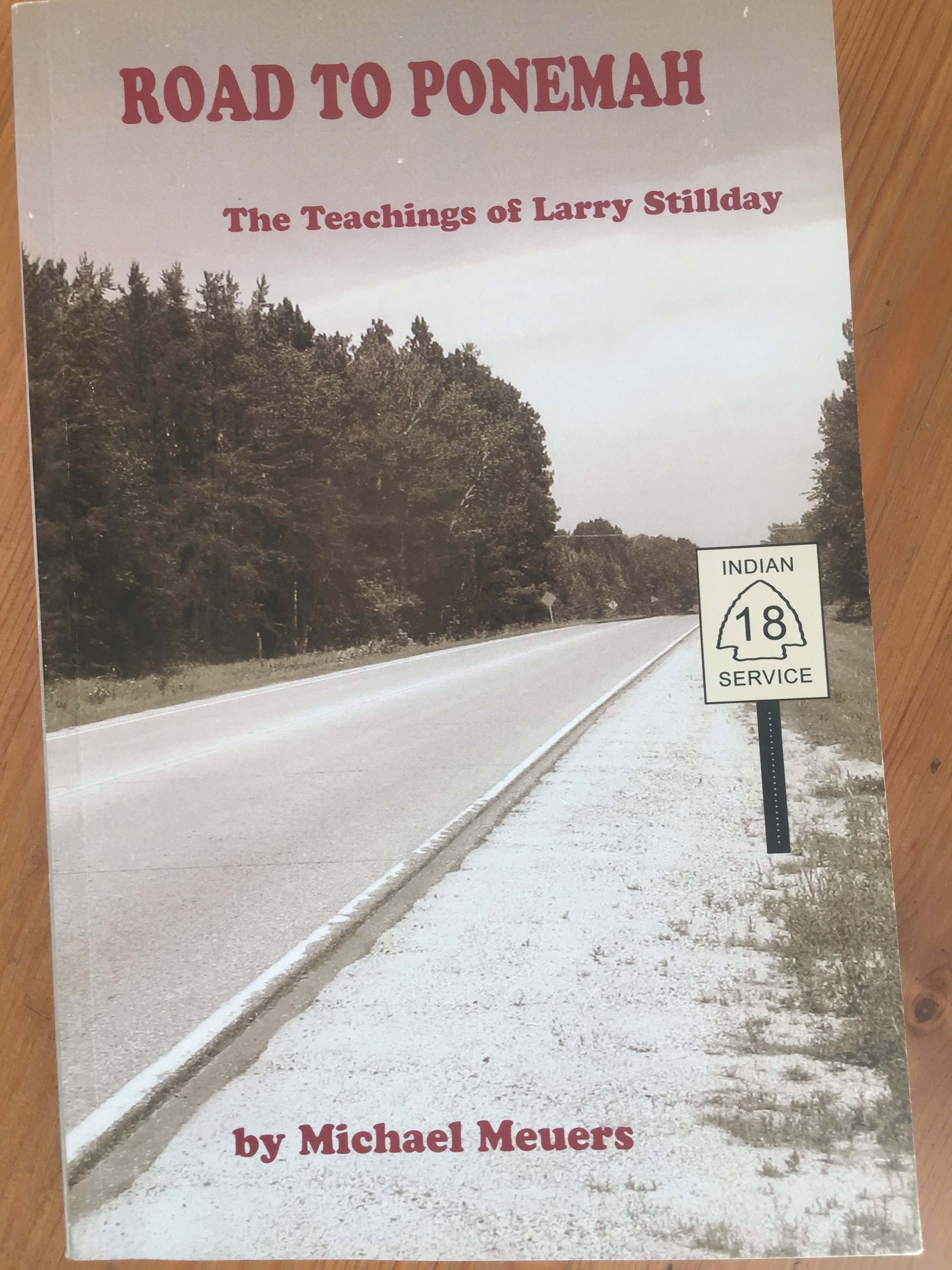 Caption: Michael Meuers has compiled the teachings of Red Lake elder Larry Stillday into a new book.