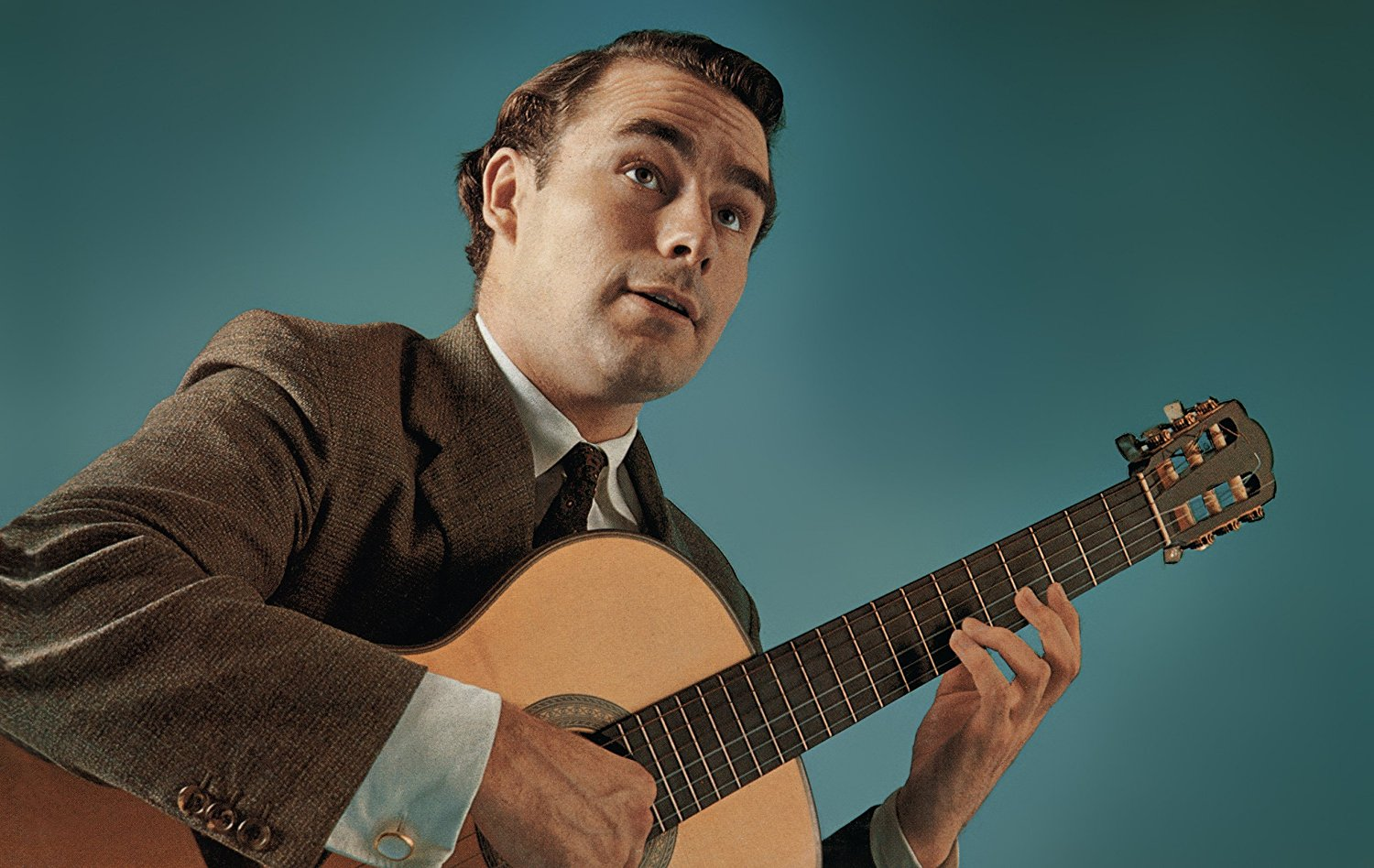 Caption: Julian Bream, Credit: Julian Bream