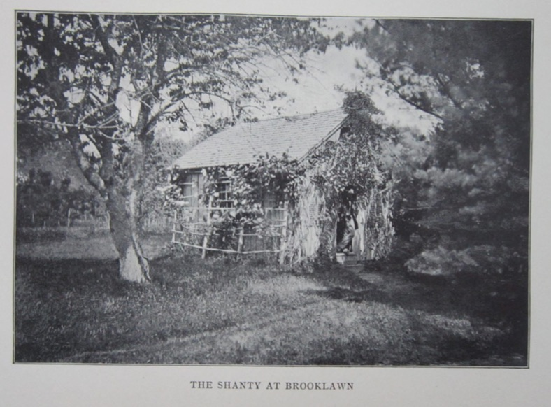 Caption: Image of Daniel Ricketson's 'Shanty', circa 1870, Credit: New Bedford Free Library