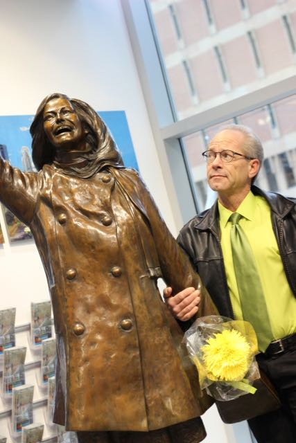 Caption: The Star Tribune's James Lileks has a thing for Mary Richards., Credit: Britt Aamodt