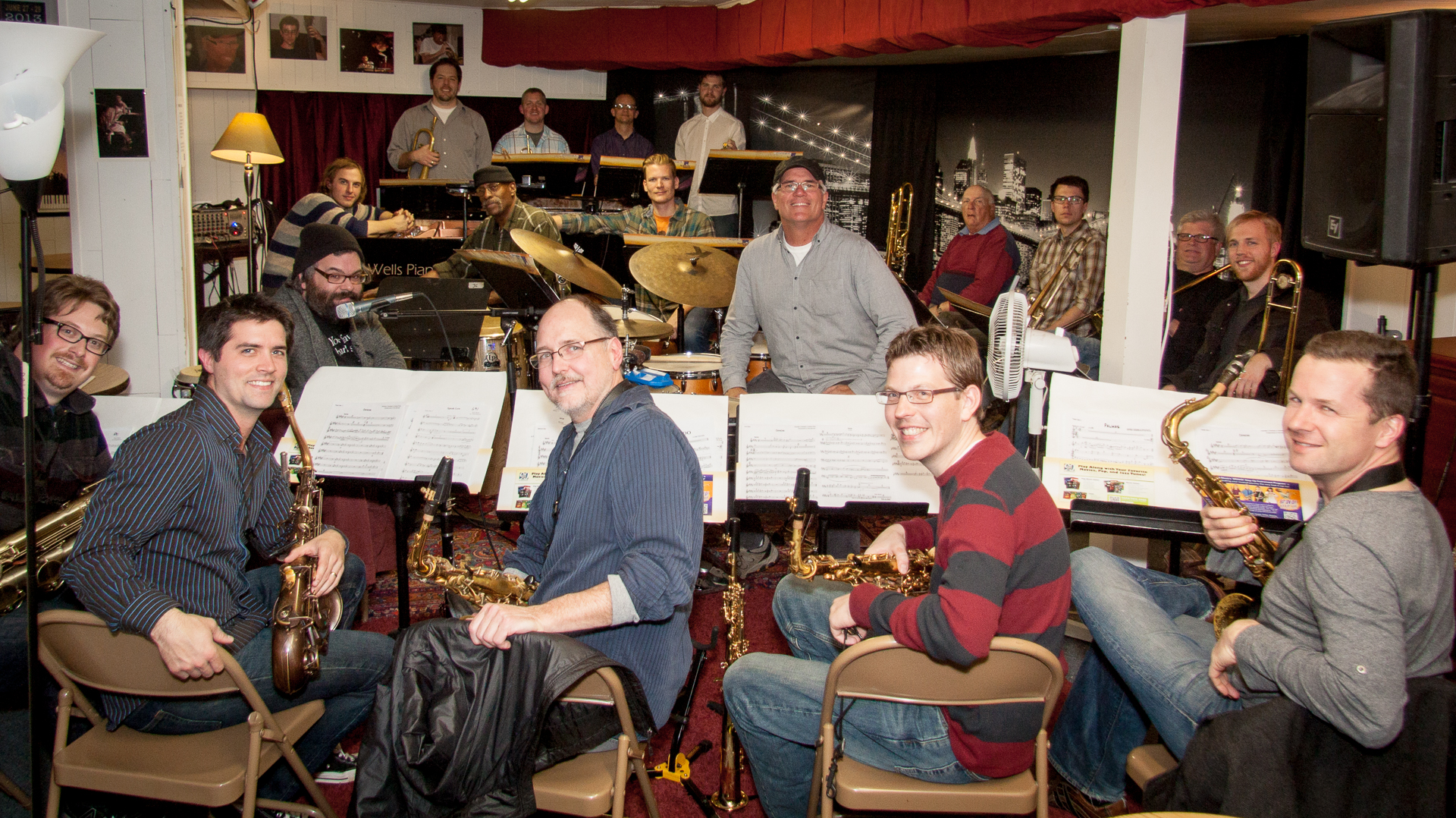 Caption: Twin Cities Latin Jazz Orchestra, Credit: Diego Ramallo