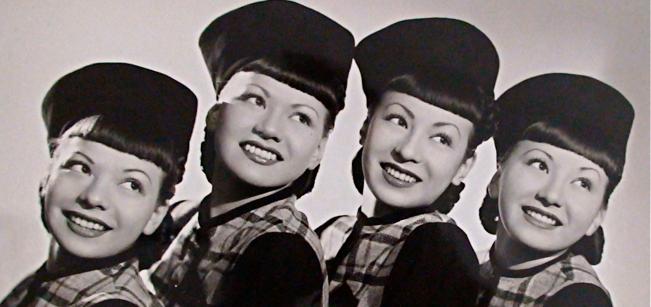 Caption: The Kim Loo Sisters