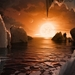 Caption: Artist concept of the surface of TRAPPIST-1f, Credit: NASA/JPL-Caltech