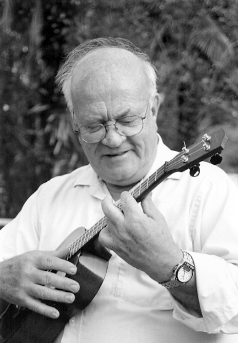 Caption: Lyle Ritz, Father of Jazz Ukulele, Credit: Elizabeth Maihock Beloff