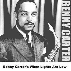 Caption: Benny Carter, Credit: Jazz Classics jacket cover