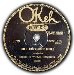 Caption: The original 78 rpm record, Credit: Okeh Records, 1929