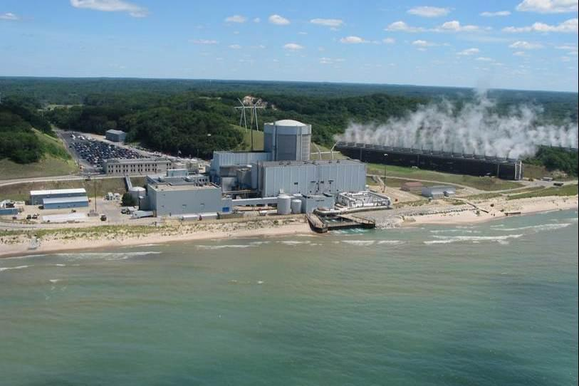 Caption: Palisades Nuclear Power Plant in Covert, Mich., Credit: File photo, Nuclear Regulatory Commission