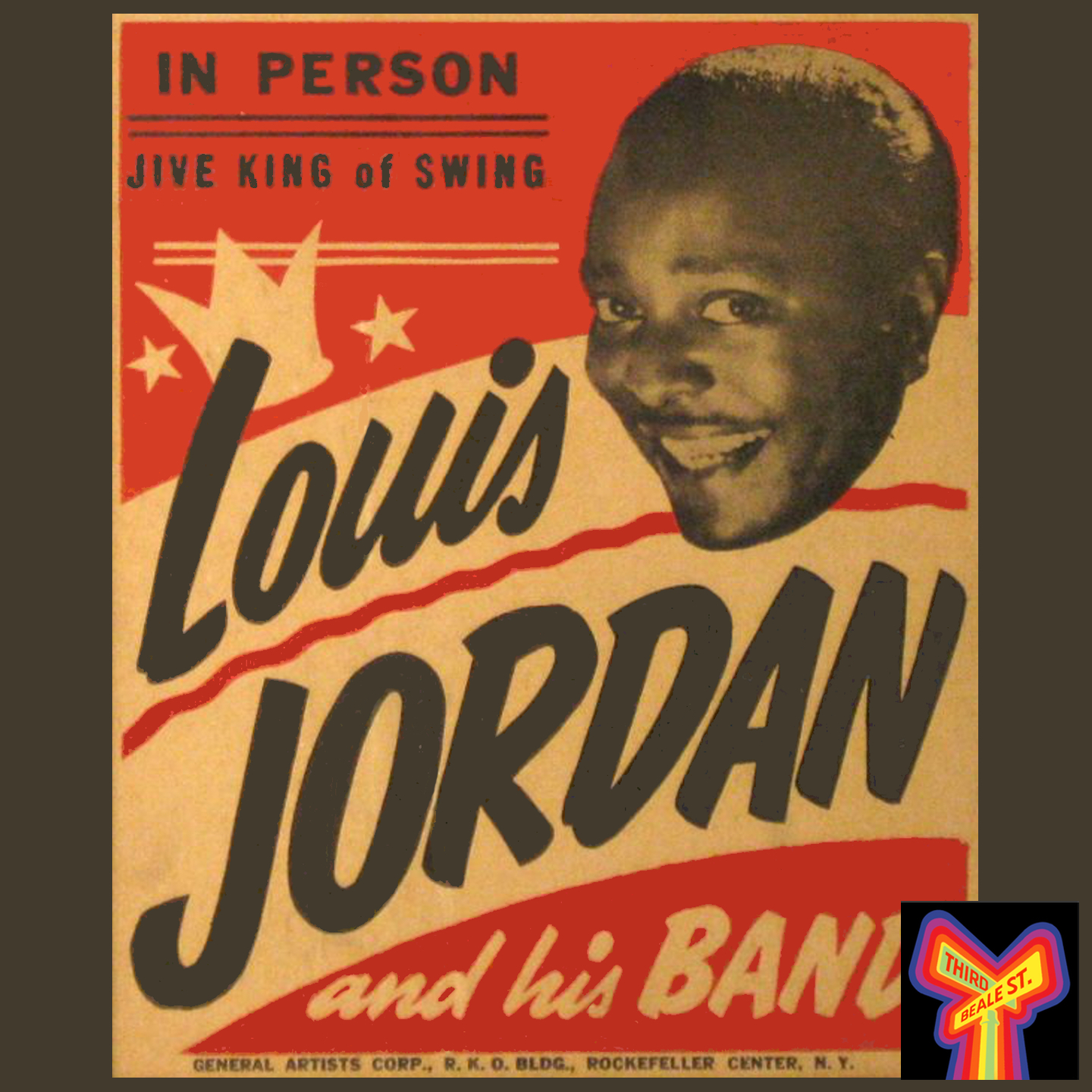 Caption: During the 1940s, Louis Jordan was king of the charts, racking up an unbroken string of almost 40 top ten R&B hits between 1942 and 1948.