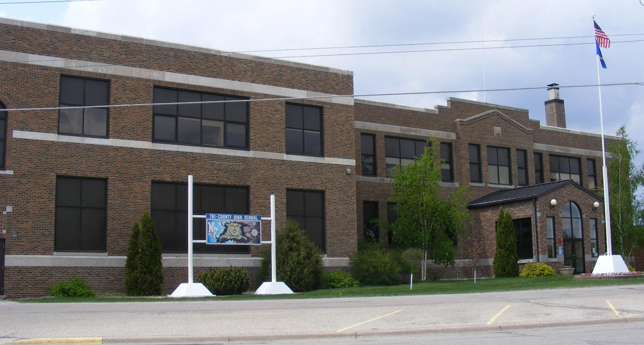 Caption: Tri-County School of Karlstad, MN