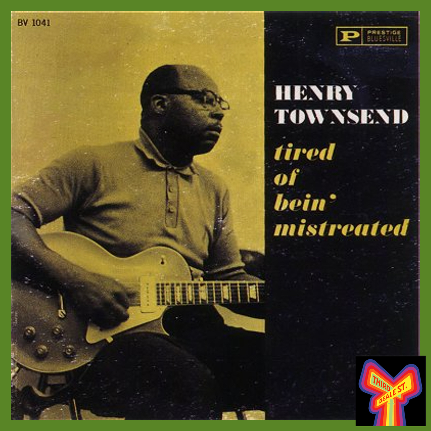 Caption: Another classic from Bluesville: Henry Townsend's LP for the label is a super-rarity today.