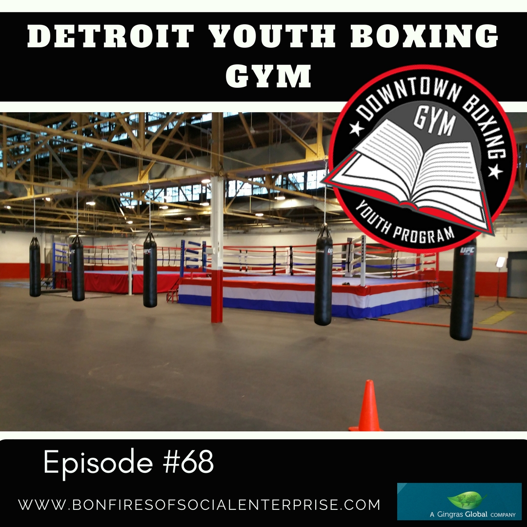 Caption: Khali Sweeney of the Downtown Boxing Gym Youth Program in Detroit