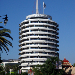 Caption: Capitol Records Building