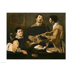 Caption: Diego Velázquez-The Three Musicians