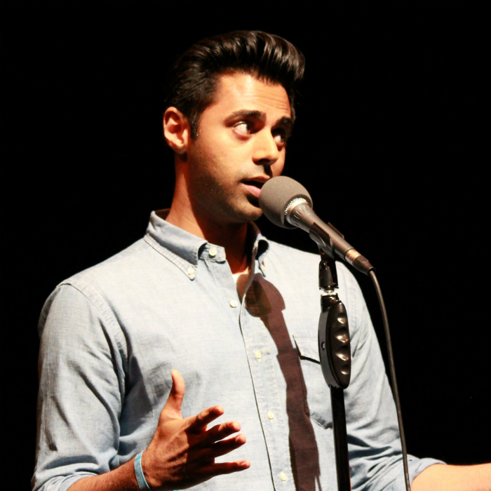 Caption: Hasan Minhaj, Credit: Photo by Christian Leonard
